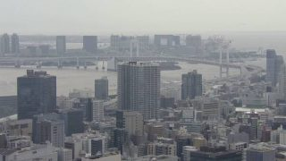 東京タワーから見える東京の街並みライブカメラと雨雲レーダー/東京都港区