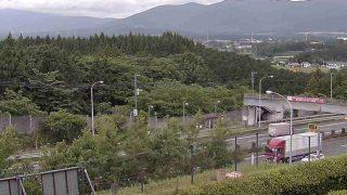 東名高速 足柄バス停 ライブカメラと雨雲レーダー/静岡県駿東郡小山町