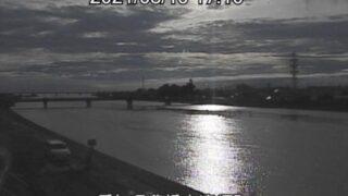 豊川放水路・清須排水機場付近ライブカメラと雨雲レーダー/愛知県豊橋市清須町