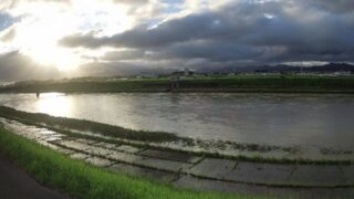 豊川放水路・大村4k600ライブカメラと雨雲レーダー/愛知県豊橋市大村町