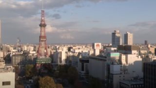大通公園・さっぽろテレビ塔 ライブカメラ(TVh)と雨雲レーダー/北海道札幌市