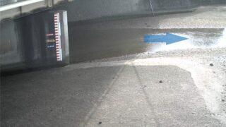 宇美川・二又瀬橋 ライブカメラと雨雲レーダー/福岡県福岡市東区