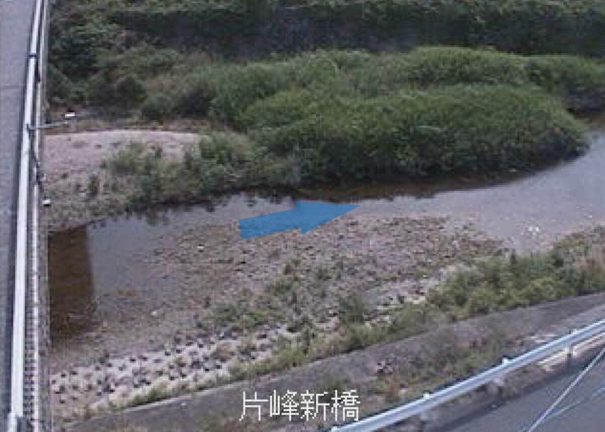 宇美川・片峰新橋 ライブカメラと雨雲レーダー/福岡県志免町