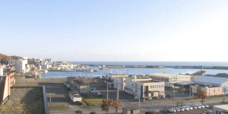 浦河 ライブカメラ(STV)と雨雲レーダー/北海道浦河町