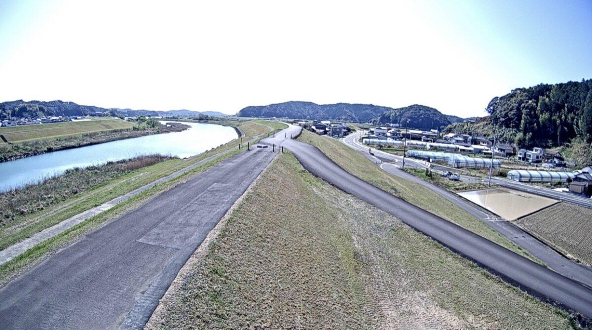 後川・右山ライブカメラと雨雲レーダー/高知県四万十市右山