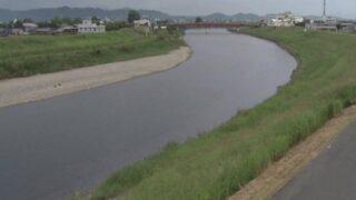 矢部川・上庄 右岸11K425ライブカメラと雨雲レーダー/福岡県みやま市瀬高町