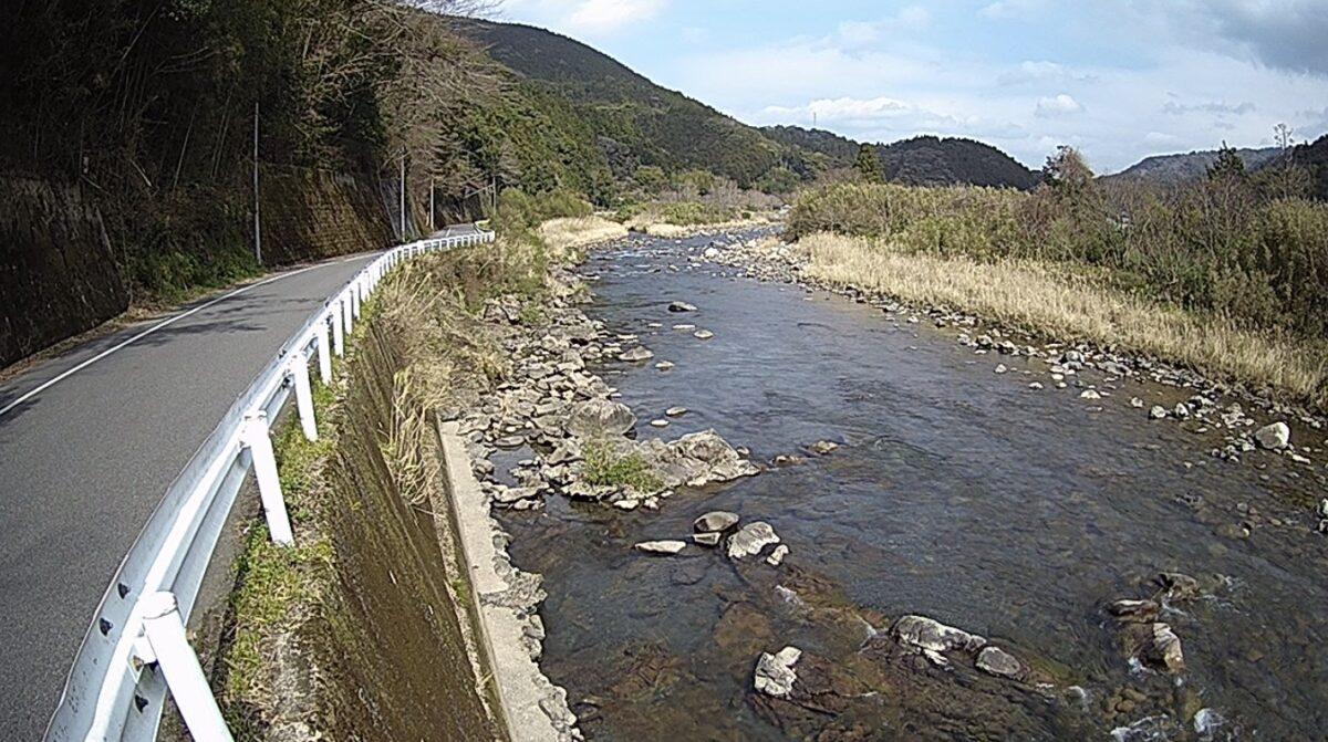 安田川・間下ライブカメラと雨雲レーダー/高知県安田町間下