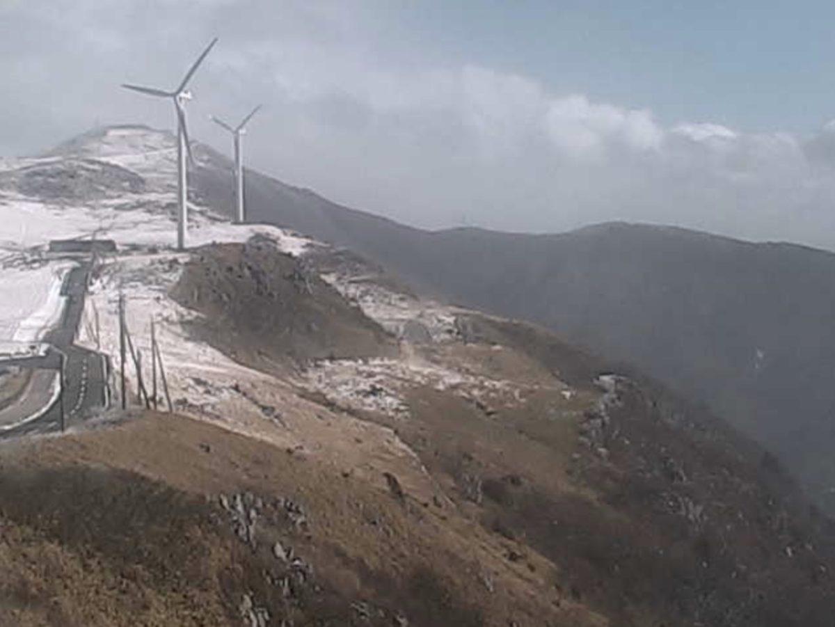 四国カルストライブカメラと雨雲レーダー/高知県梼原町