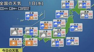 最新地震・気象情報 ウェザーニュースLiVEと雨雲レーダー