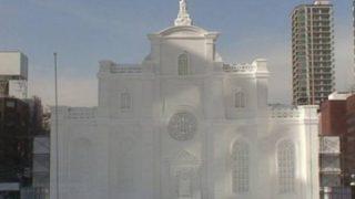 北海道札幌市 さっぽろ雪まつりHBCスウェーデン広場ライブカメラと雨雲レーダー