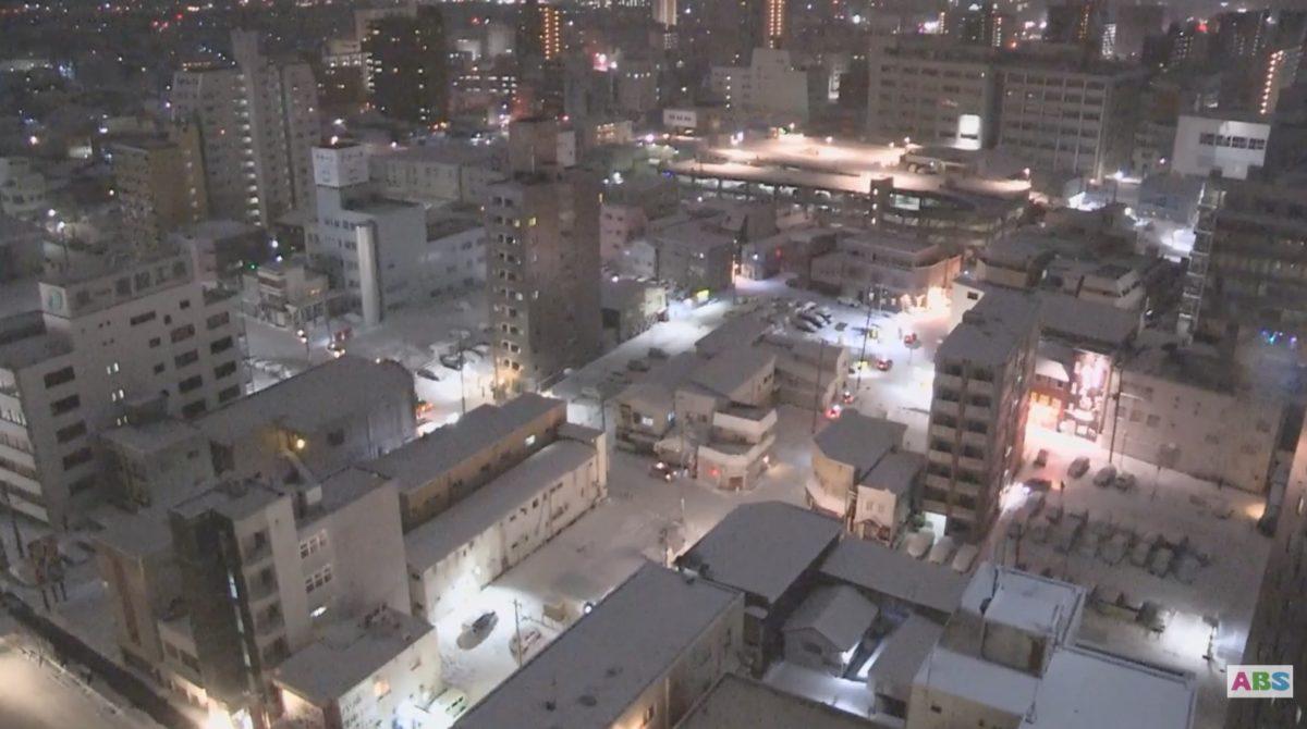 秋田駅 ライブカメラ(西口)と雨雲レーダー/秋田県秋田市