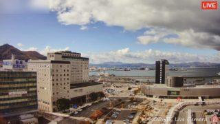 函館 ライブカメラ(函館山・JR函館駅・函館湾・摩周丸)と雨雲レーダー/北海道函館市