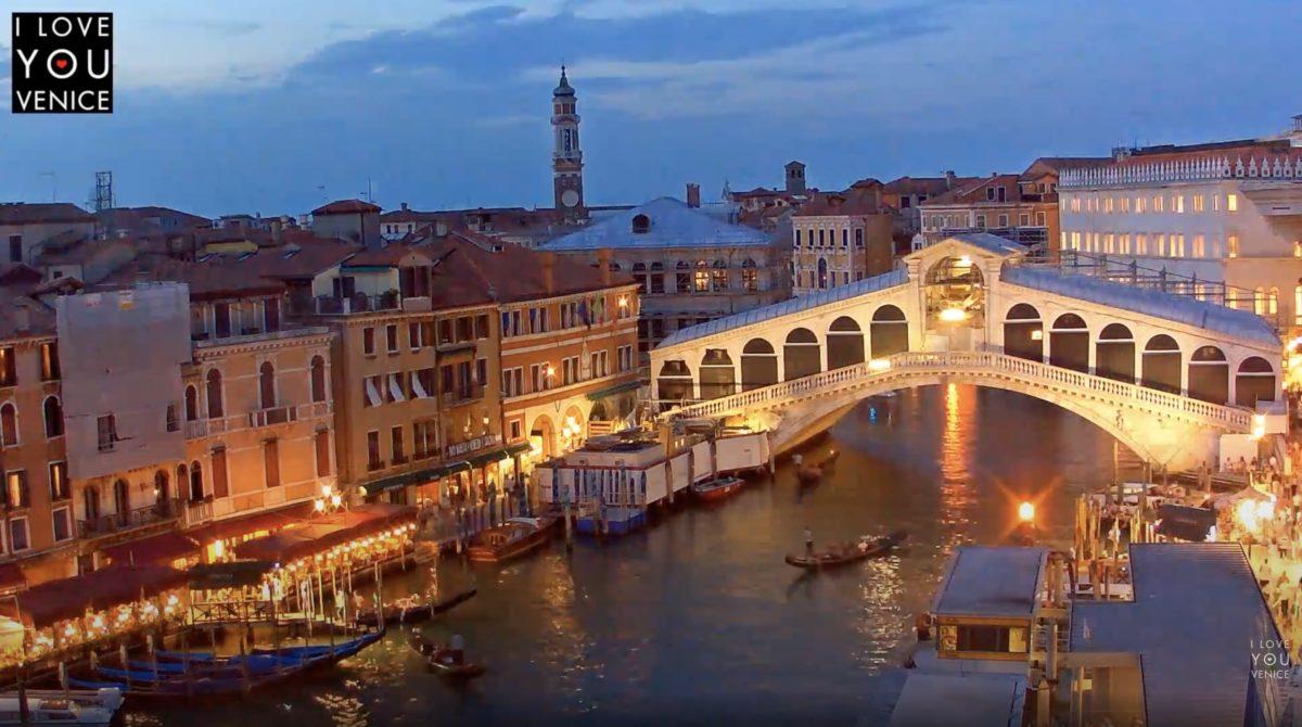 リアルト橋・グーリエ橋 ライブカメラ/イタリア ヴェネツィア