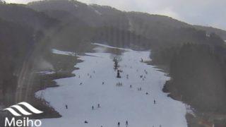 めいほうスキー場 ライブカメラと雨雲レーダー/岐阜県郡上市