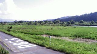 最上川 ライブカメラ(大石田)と雨雲レーダー/山形県大石田町