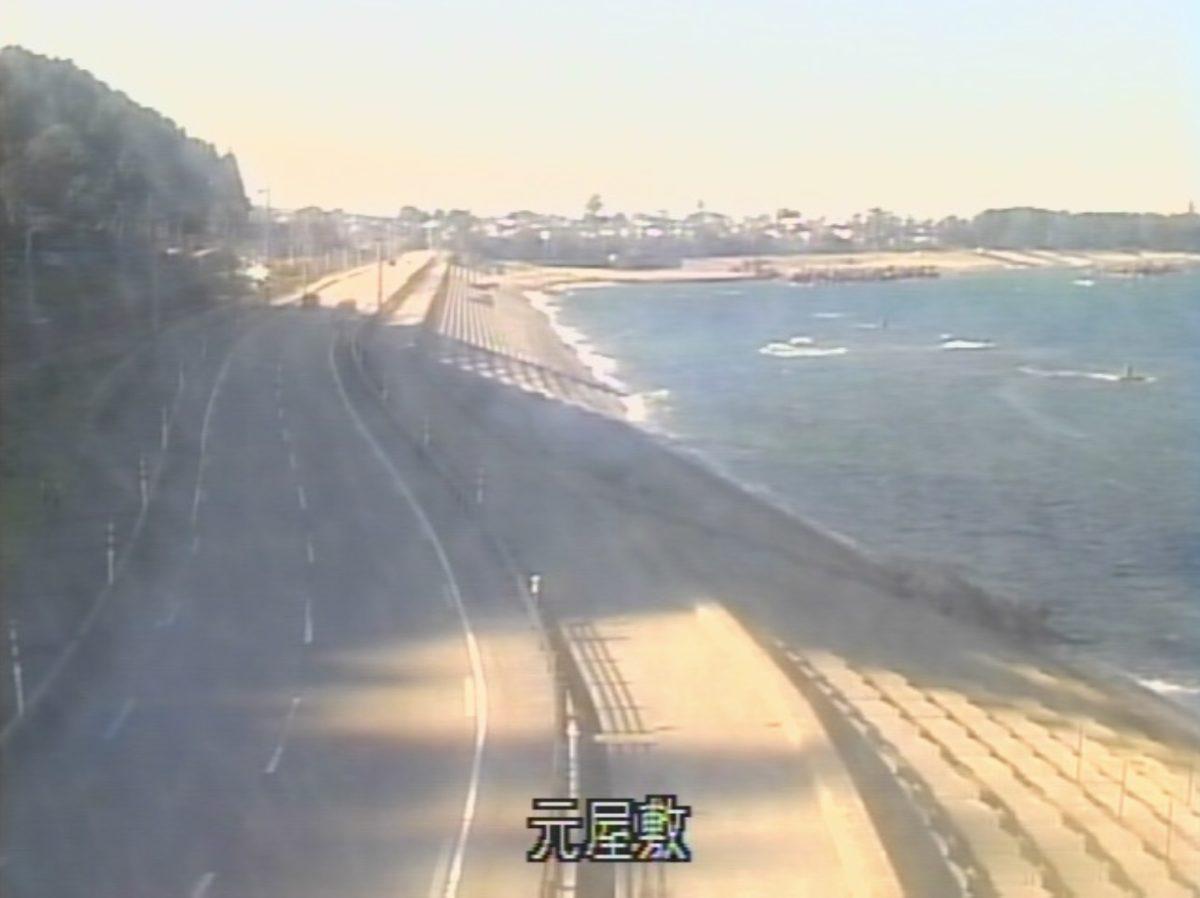入善土木海岸(元屋敷、宮崎、境)ライブカメラと雨雲レーダー/富山県入善町