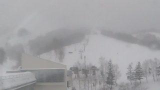 マウントレースイスキー場 ライブカメラと気象レーダー/北海道夕張市