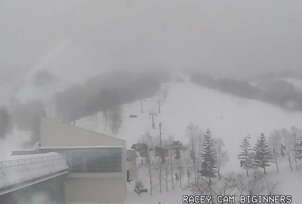 マウントレースイスキー場 ライブカメラと雨雲レーダー/北海道夕張市
