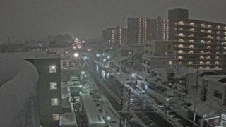 道路 ライブカメラ(NCT)と雨雲レーダー/新潟県長岡市