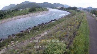 長良川・生櫛 ライブカメラと雨雲レーダー/岐阜県美濃市
