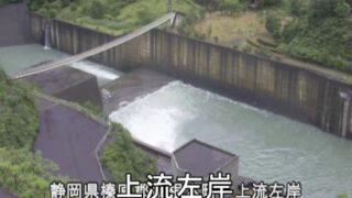 長島ダム・大井川ライブカメラ(11ヶ所)と気象レーダー/静岡県川根本町