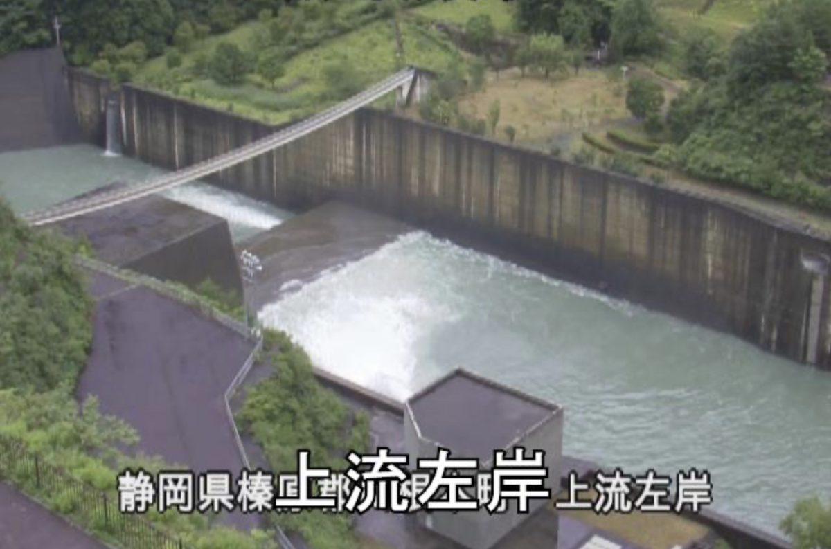 長島ダム・大井川ライブカメラ(11ヶ所)と雨雲レーダー/静岡県川根本町