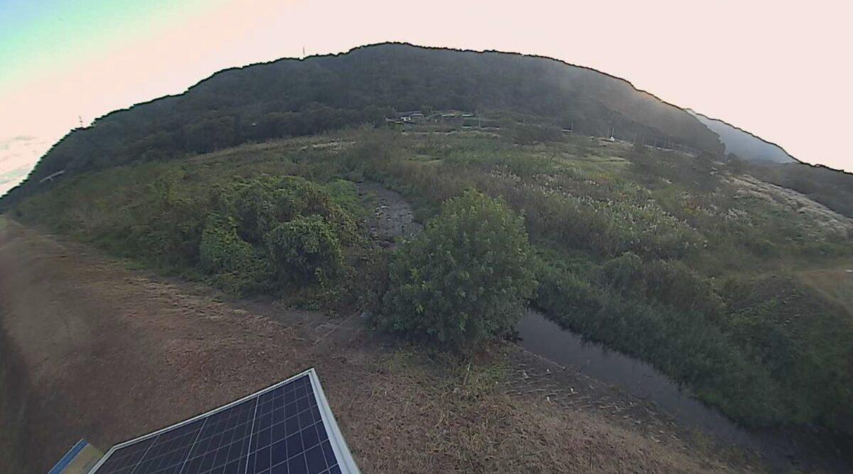 中津川・角田ライブカメラと雨雲レーダー/神奈川県愛川町角田