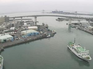 泊港の見える「とまりん」ライブカメラ