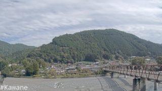 大井川 ライブカメラ(川根大橋)と雨雲レーダー/静岡県川根本町