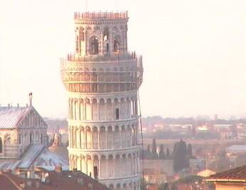 Rete Cvica Pisana ピサの斜塔ライブカメラ
