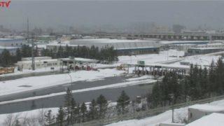 道央自動車道 札幌料金所 ライブカメラと雨雲レーダー/北海道札幌市
