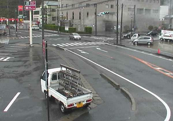 国道135号 白田付近ライブカメラと雨雲レーダー/静岡県東伊豆町