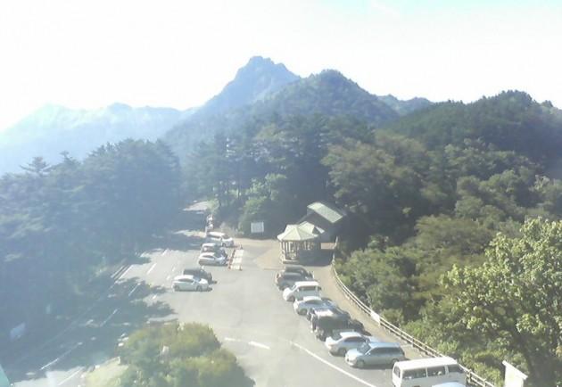石鎚山と瓶ケ森ライブカメラと雨雲レーダー/愛媛県久万高原町