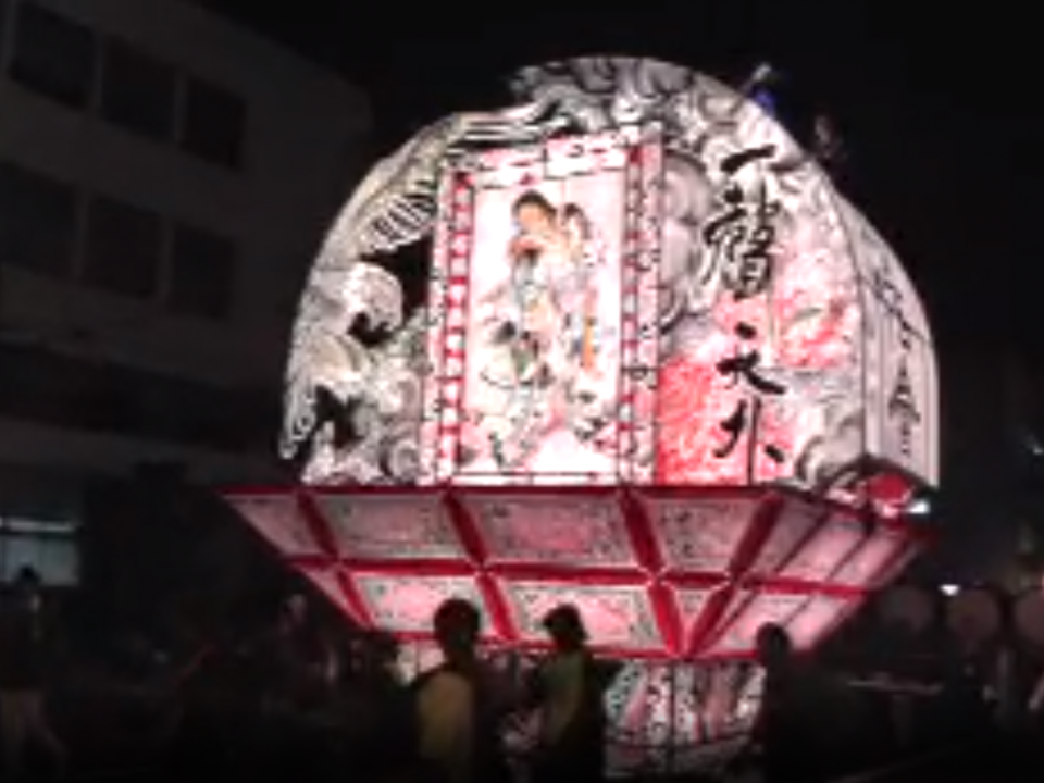 弘前ねぷた祭ライブカメラ(ustream)と雨雲レーダー/青森県弘前市