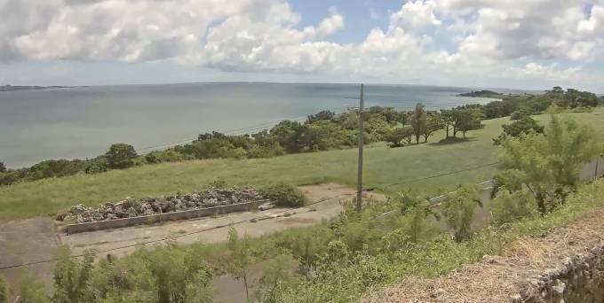 沖縄県石垣市 石垣島崎枝ライブカメラ(YouTube)と雨雲レーダー
