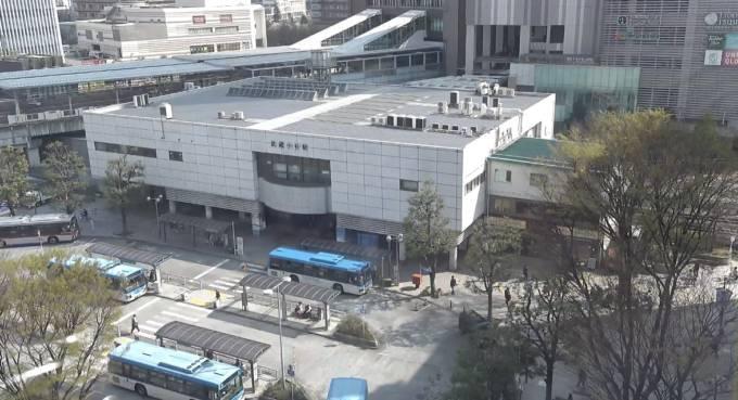 武蔵小杉駅ライブカメラと雨雲レーダー/神奈川県川崎市