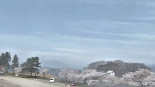 舟津公園ライブカメラと雨雲レーダー/福島県郡山市