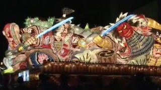 停止中:青森ねぶた祭ライブカメラ(ABA)と雨雲レーダー/青森県青森市