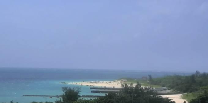 沖縄県宮古島市 宮古島の海と来間大橋 ライブカメラと雨雲レーダー