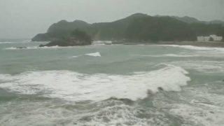 停止中:台風21号 徳島県南部 日和佐 特設ライブカメラ(ウェザーニュース)と気象レーダー/徳島県美波町