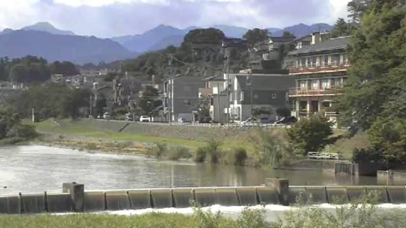 犀川(さいがわ)ライブカメラと雨雲レーダー/石川県金沢市