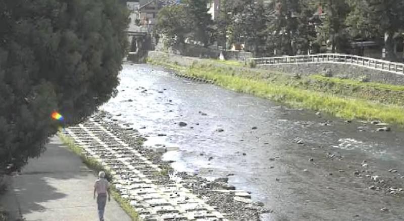 浅野川 ライブカメラと雨雲レーダー/石川県金沢市