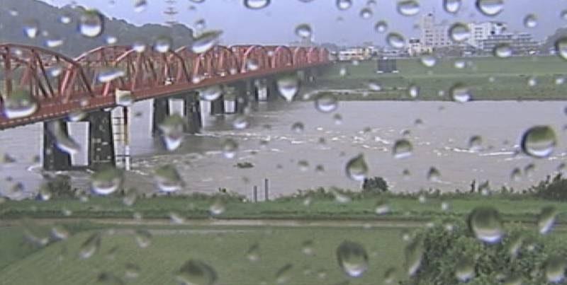 四万十川・後川・中筋川 ライブカメラと雨雲レーダー/高知県四万十市