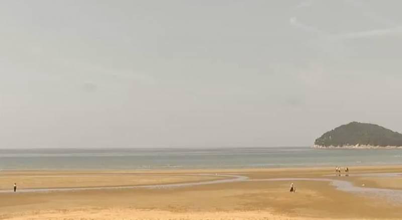 瀬戸内海の「天空の鏡」父母ヶ浜ライブカメラと雨雲レーダー/香川県三豊市