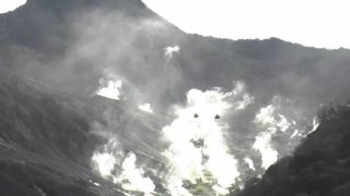 箱根山・大涌谷 ライブカメラ(Yahoo!)と雨雲レーダー/神奈川箱根町