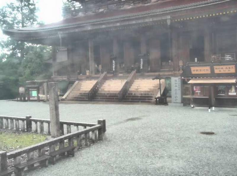 金峯山寺 ライブカメラと雨雲レーダー/奈良県吉野町