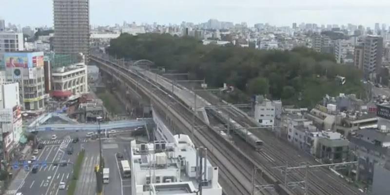 東京都北区王子 王子駅と飛鳥山公園方面ライブカメラと雨雲レーダー