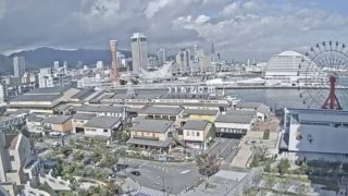 停止中:神戸港・ハーバーランド・ポートタワー ライブカメラと雨雲レーダー/兵庫県神戸市