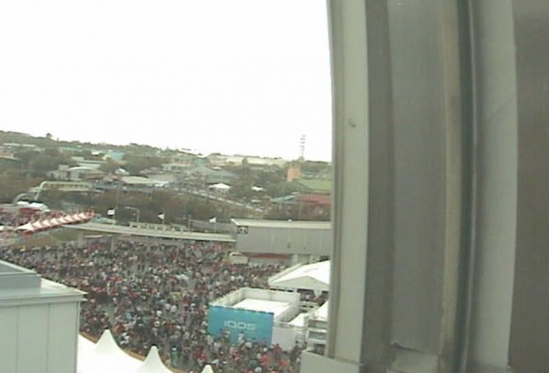鈴鹿サーキット上空 ライブカメラと雨雲レーダー/三重県鈴鹿市
