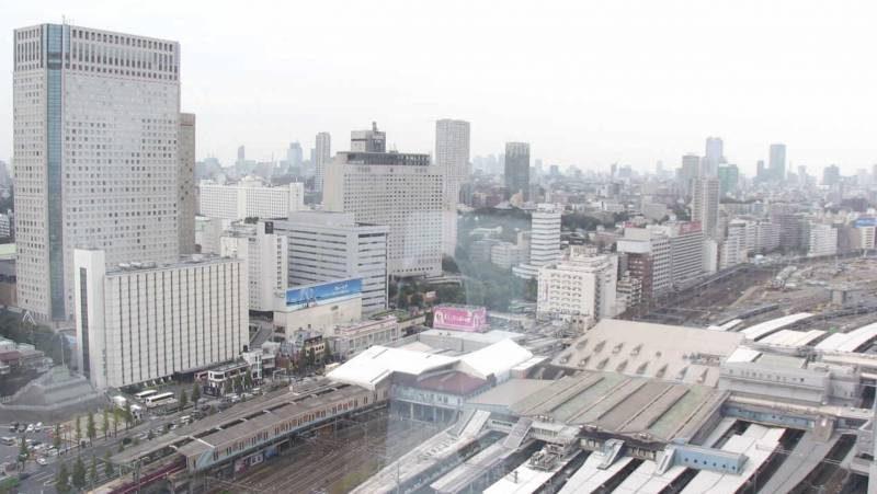 品川駅・国道15号 ライブカメラと雨雲レーダー/東京都港区
